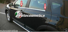 modanature acciaio cromate sotto finestrini Nissan Qashqai+2 07-13 raschiavetri