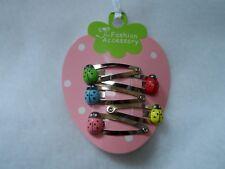 girls hair clips snap clips slides bendies hair clip mini clips baby ladybirds 5