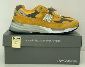 New Balance 992 Yellow Grey 12US  m992bb Deadstock