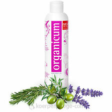 organicum Haarkur vegane Haarmaske Repair-Pflege mit Hydrosol Wildkräutern 250ml