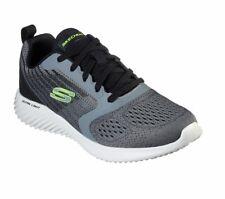 Skechers Bounder Verkona, Sneakers Uomo Casual Scarpe da Ginnastica Charcoal/Gre