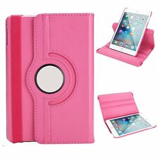 "FUNDA PARA NUEVO IPAD 9.7"" 2017 ROSA ROTATE GIRATORIA TABLET AUTO SLEEP FUNCION"