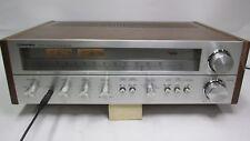 1978 Vintage Toshiba SA-725 AM FM Stereo Receiver Silver 2x25W - needs TLC WORKS