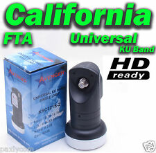 ONE Universal Single Ku Band  LNBF 0.2dB FTA Satellite Dish LNB HDTV Liner