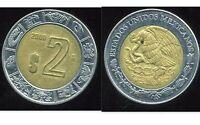 MEXIQUE 2 pesos  2000