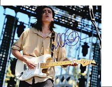 SMITH AND WESTERN CULLEN OMORI SIGNED PLAYING GUITAR 8X10