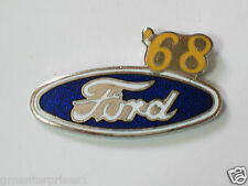 1968 Ford Automobile Pin Badge Ford Pins lapel Hat Tack