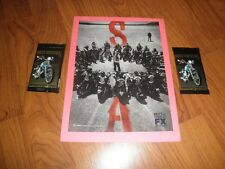 SONS OF ANARCHY Promo AD-2012-Plus Harley Davidson Cards