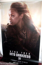 Cinema Banner: STAR TREK INTO DARKNESS 2013 (Uhura) Zoe Saldana Zachary Quinto