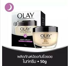 OLAY Total Effects 7 In 1 Anti Aging Tighten Pores Acne Wrinkle Night Cream 50 g