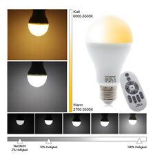 Smart LED Glühbirnen dimmbar mit 2,4 GHz Wireless 3-Zonen-Fernbedienung 12W E27