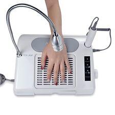 35000 RPM Pro Nail Drill Bits Dust Collector Desk Lamp 3-in-1 machine for salon