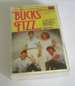Bucks Fizz cassette the land of make believe, TFP 5762 Stereo, emi