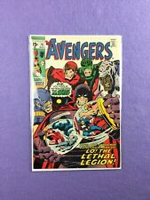 Avengers #79 (1970):  2nd Appearance of The Lethal Legion!  FN- (5.5)!