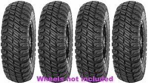 (4) New STI Chicane RX 31x10R14 8-Ply Radial Race Proven DOT UTV Tires