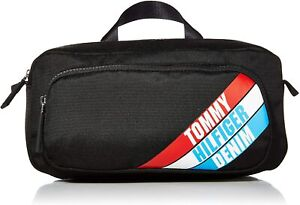 Bnew Tommy Hilfiger Men's THD Fanny Pack, Black, One size