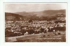 Galashiels General View From Ladhope Golf Course 1926 Real Photograph Valentines