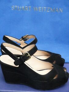 St Weitzman/TURNOVER/Russell&Bromley Women's shoes/wedges/ size UK7/40/095US/Des