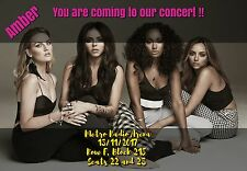 Little Mix Concert  Tickets Seats Present Birthday Card A5 260gsm