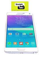 Unlocked Samsung Galaxy Note 4 IV (Straight Talk Verizon Towers) 32GB