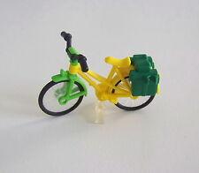 PLAYMOBIL (V148) LOISIRS - Vélo Homme Jaune & Vert avec Sacoches Vertes 3739