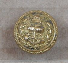 19th Century Victorian Royal Navy flag Officer Tunic Cuff Button 17mm