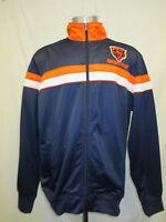 Chicago Bears Men's Large Full Zip Embroidered Starter Track Jacket NFL A15