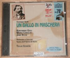 Verdi: Un ballo in maschera - Gigli Caniglia Bechi - Tullio Serafin (2xCD)
