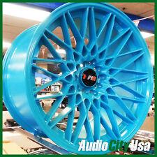 F1R F23 18X10.5 ET+20  5X114.3 / 5-100 TEAL  fit LEXUS IS250 IS300 GS300 GS400 C