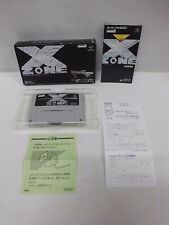 X ZONE -- Boxed. Shooting. Super famicom, SNES. Japan game. Work fully. 13557