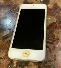 New listing Apple iPhone 5 - 16Gb - White & Silver (At&T) A1428 (Gsm) Unlocked