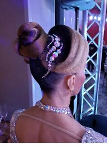 Ballroom Hair Accessory Crystals