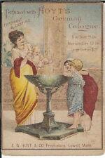 BA-268 Hoyt's German Cologne Perfume 1890-1910 Victorian Advertising Trade Card