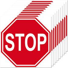 10 Sticker 10cm Stop Shield Notice Warning Door Doctor Practice Maschinen