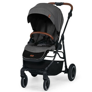 Kinderkraft All Road Pushchair Ash Grey From Birth to 15kg Warehouse Clearance