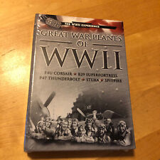GREAT WAR PLANES OF WWII 4 DVD BOXSET BRAND NEW