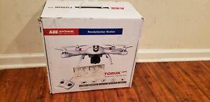 "New Open Box AEE AP9 Quadcopter Drone, 14 1/2""H x 14 1/2""W x 5 3/4""D, White"