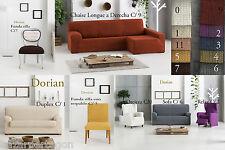 funda de sofa bielastica de gran calidad, chaise longue derecha izquierda relax