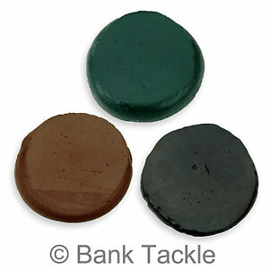 Tungsten Rig Putty 20g Green, Brown or Black Carp Fishing Terminal Tackle (JT)