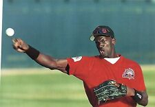 MICHAEL JORDAN CLASSIC TRYING HIS HAND AT BASEBALL FOR THE CHICAGO MINOR LEAGUES