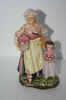 Original Arnart Creation HP Grandmother Granddaughter Basket Apple Figure 33/184