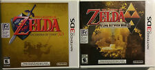 Legend of Zelda: Ocarina of Time 3D A Link Between Worlds 3DS Combo New Sealed