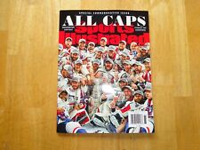 2018 Washington Capitals Sports Illustrated Stanley Cup Magazine