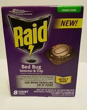 Raid Bed Bug Detector and Trap, 8.0 Count t8