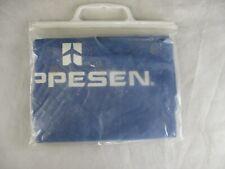 New ListingAqua Sheen Vinyl Rain Poncho Jeppesen Aviation Blue
