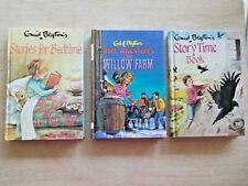 3 x Enid Blyton~Bulk Lot~1985/6~H/B~Dean~Bedtime Stories~Willow Farm~Story Time