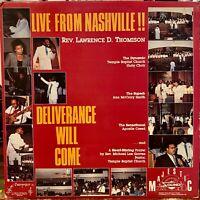 killer gospel funk boogie LP LAWRENCE THOMISON Deliverance Live MP3 Drum Machine