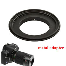 1Pc Metal 52mm Macro Lens Mount Reverse Ring Adapter For Canon EOS EF/-SCamera