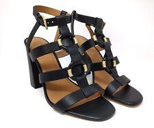 354c653dbf Calvin Klein Womens 9.5 Lindy Black T-Strap Block Heel Dress Sandal NEW $169