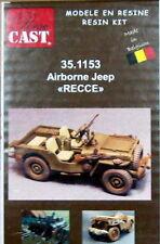 Resicast 1/35 UK Airborne Jeep Reconnaissance Conversion Set for Tamiya kit